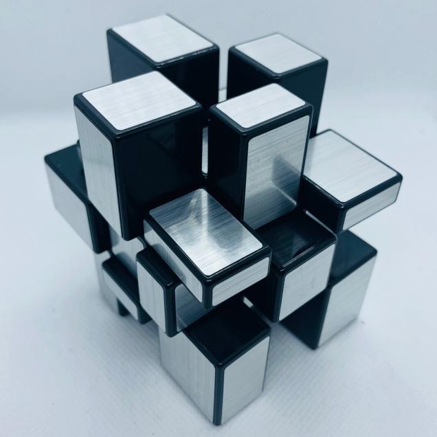 Mirror Cube Silver