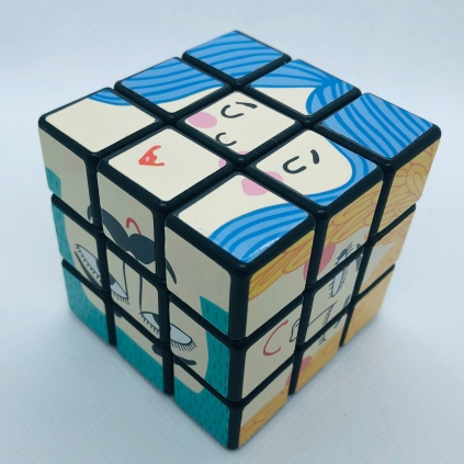 Cubo mágico caras